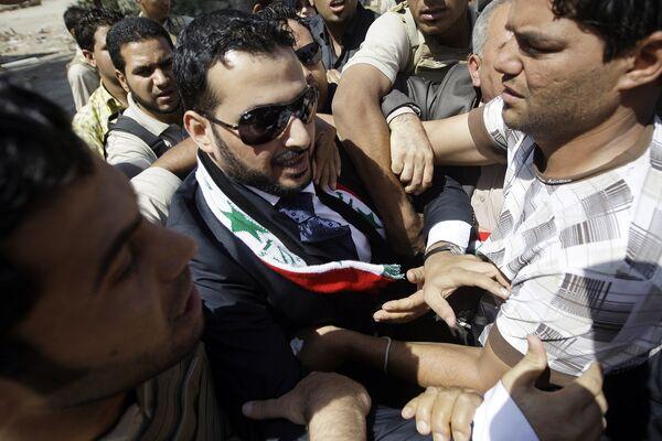 Иракский репортер Мунтазер аз-Зейди вышел на свободу