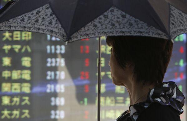 Токио, фондовая биржа