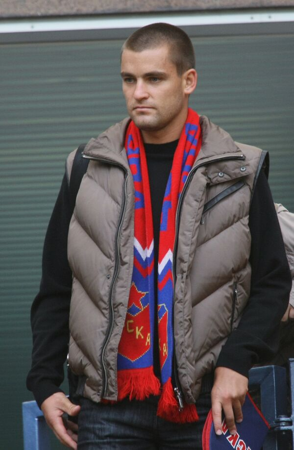 Теннисист Михаил Южный