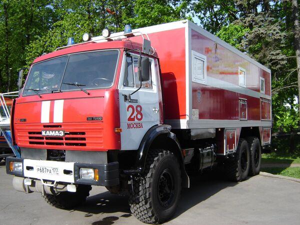 Новейшая пожарная машина