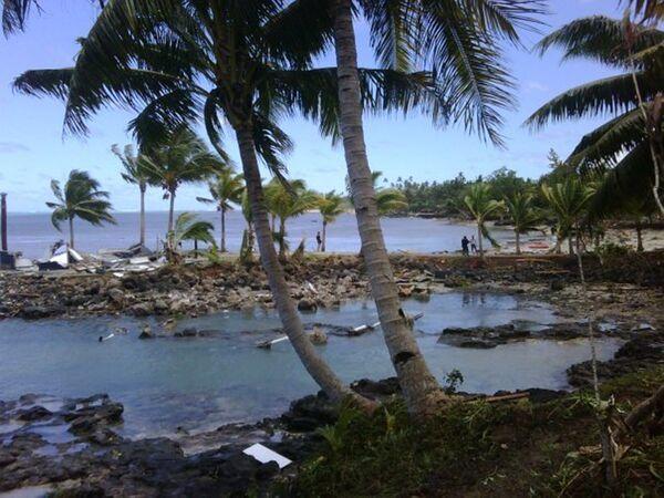 Землетрясение и цунами в Тихом океане
