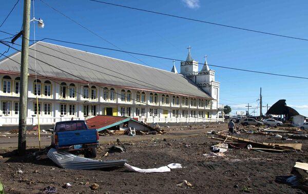 Последствия землетрясения и цунами в Тихом океане