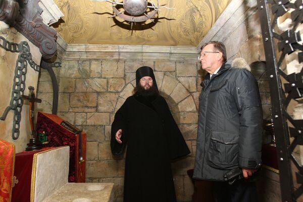 Виктор Зубков посетил Ново-Иерусалимский монастырь