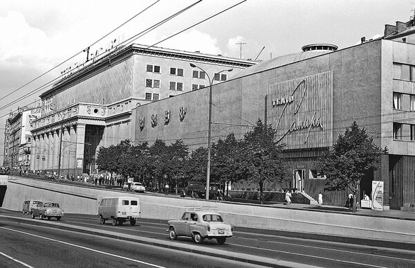 Театр Сатиры в Москве