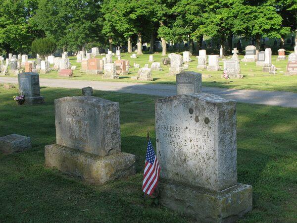 Кладбище в штате Нью-Йорк