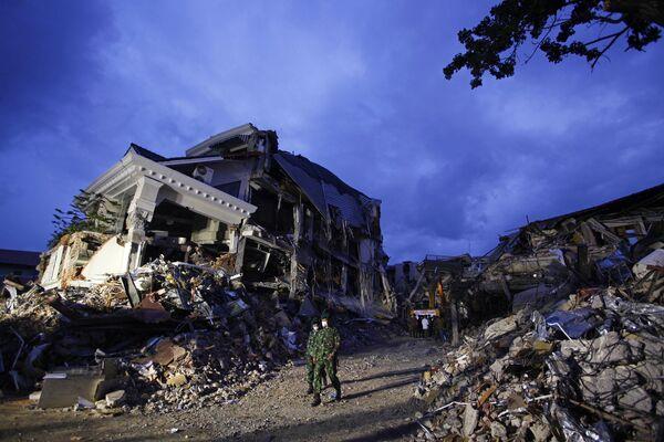 Последствия землетрясения у берегов Суматры