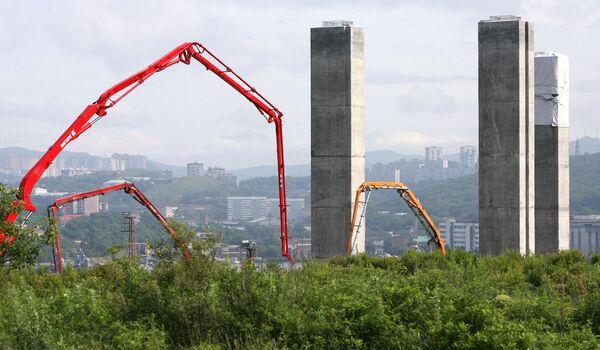 Объекты во Владивостоке, которые возводятся в рамках подготовки к саммиту АТЭС-2012