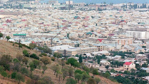 Панорама Дербента. Архивное фото