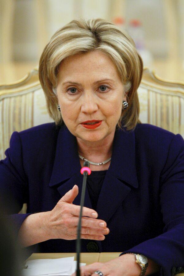 Клинтон прибыла в Израиль договариваться о мире на Ближнем Востоке