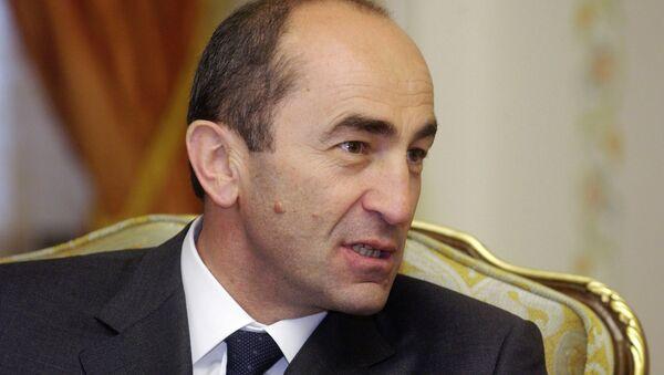 Экс-президент Армении Роберт Кочарян. Архивное фото
