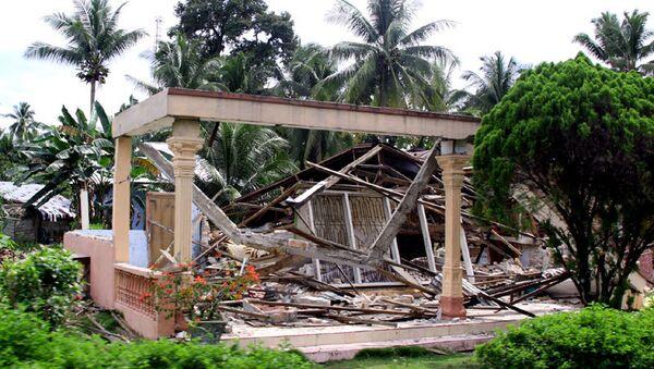 Землетрясение магнитудой 6,7 произошло в Индонезии