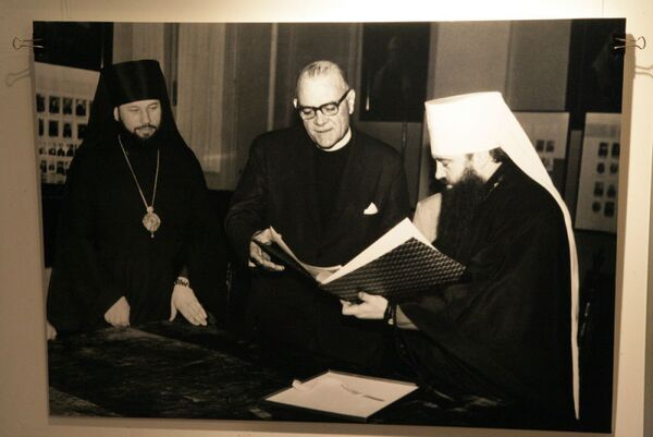 Фото из фотоальбома Богословское наследие митрополита Ленинградского и Новгородского Никодима