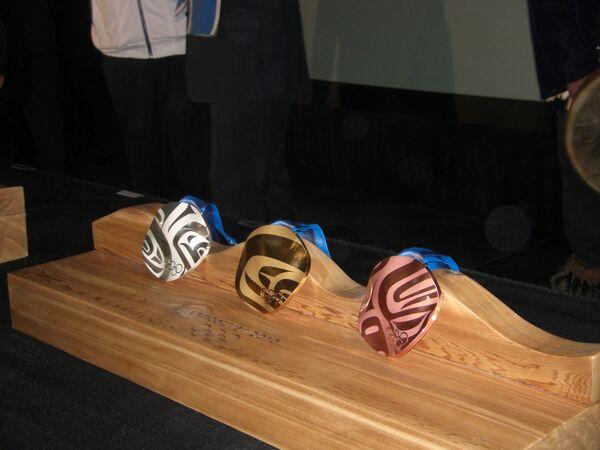 Каждая медаль Олимпиады-2010 в Ванкувере будет иметь уникальный дизайн