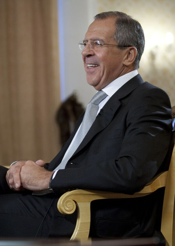 Министр иностранных дел Сергей Лавров. Архив