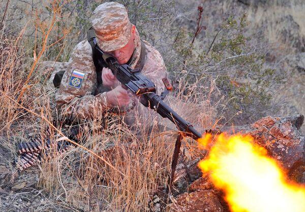Учения Коллективных сил оперативного реагирования ОДКБ, которые прошли 2-16 октября 2009 г. на полигоне «Матыбулак» в Казахстане