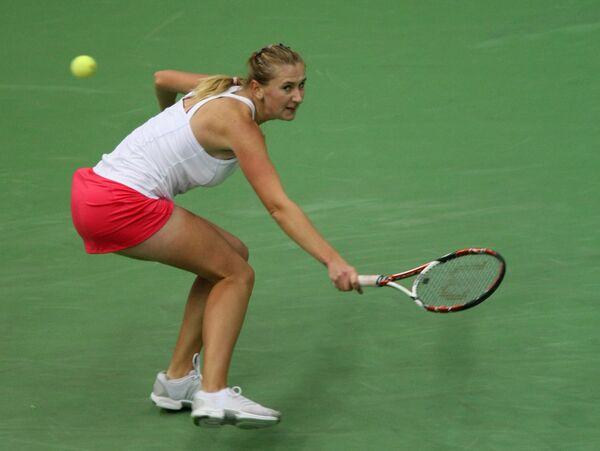 Белорусская теннисистка Ольга Говорцова