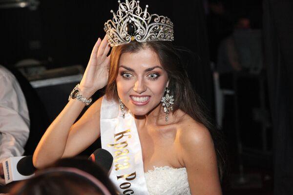 Евгения Лапова - победительница XV конкурса Краса России 2009