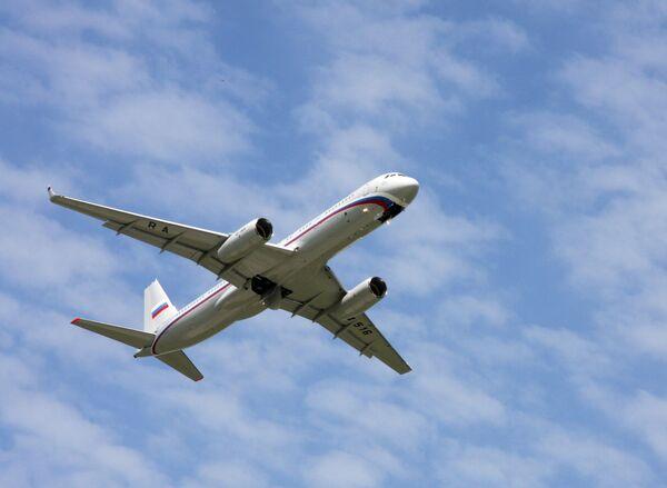 Самолет Ту-214 спецназначения Управления делами президента РФ