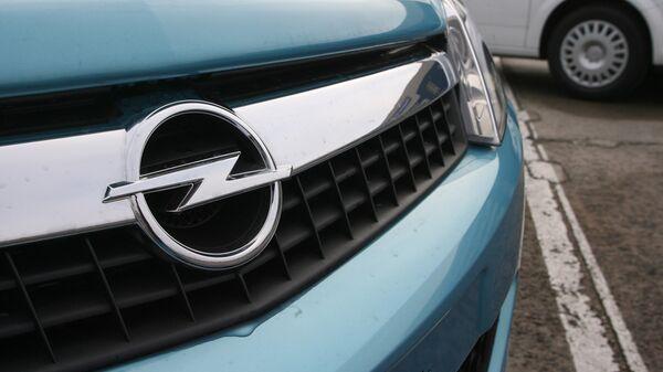 Первый автомобиль марки Opel, сошедший с конвейера Автотора