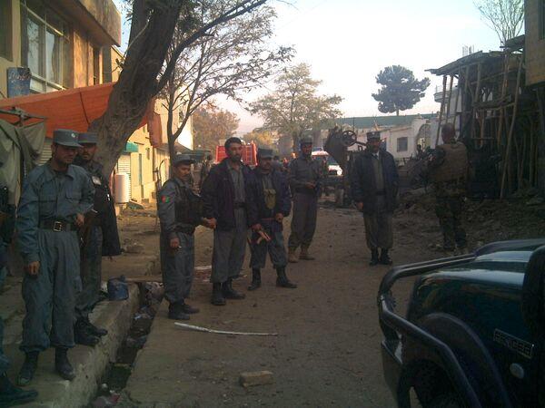 Нападение террористов на гостиницу ООН в Кабуле