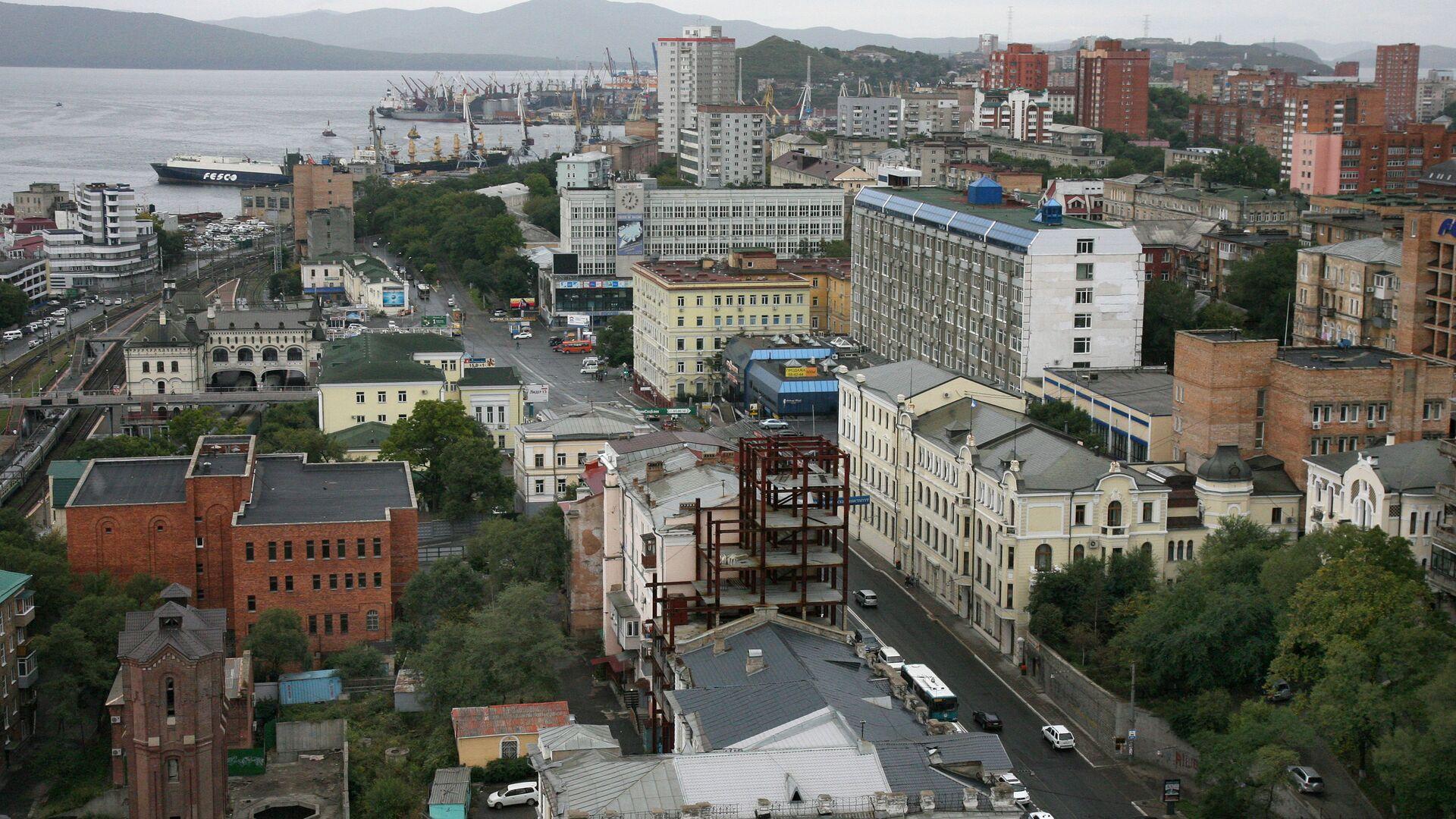 Виды Владивостока - РИА Новости, 1920, 14.04.2021