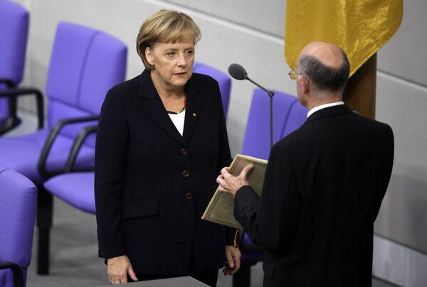 Ангела Меркель избрана канцлером Германии на второй срок