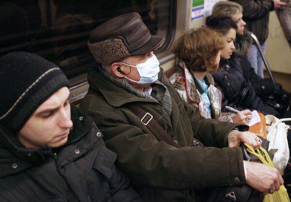 Число случаев A/H1N1 в РФ достигло 4,563 тысячи
