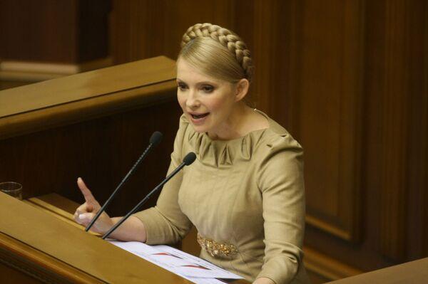 Тимошенко передаст локальные газовые сети дочерней компании Нафтогаз