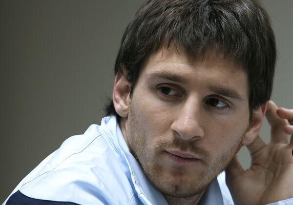 Аргентинский нападающий Месси стал обладателем Золотого мяча по итогам 2009 года