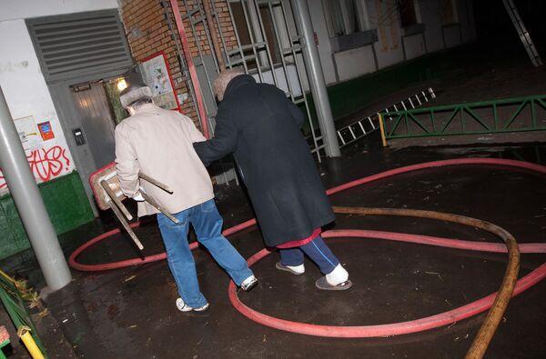Пожар в квартире на востоке Москвы потушен, один человек погиб