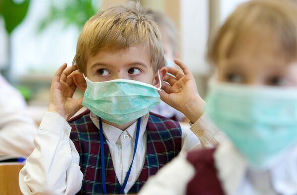 Профилактические меры против гриппа в школе. Архив