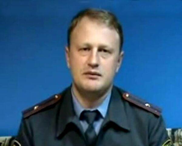 Видеожалоба майора милиции Дымовского премьер-министру России