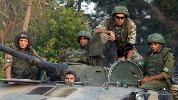 ЕС просит РФ выполнить обязательства, взятые после войны на Кавказе