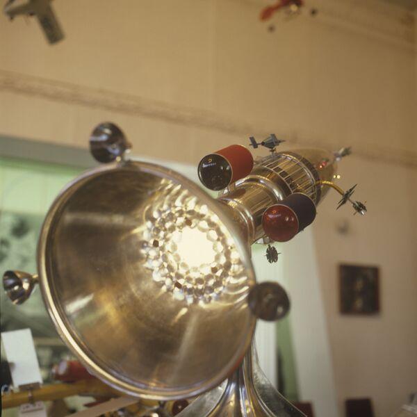 Модель межзвездного космического корабля Русь