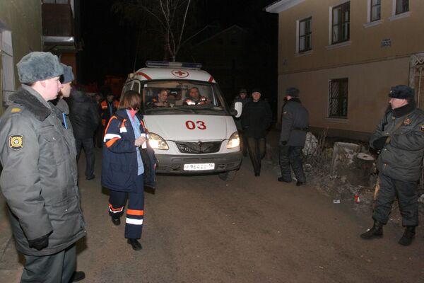 Один человек погиб при обрушении дома в Самарской области