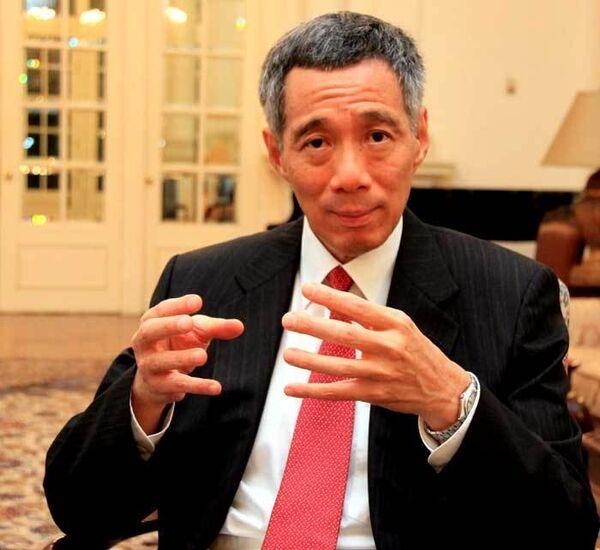 Премьер-министр Сингапура Ли Сянь Лун