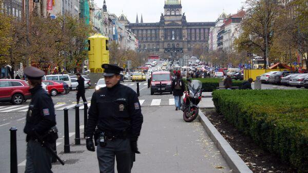 Полицейские в Праге. Архивное фото