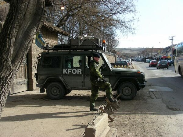 Косово: солдаты международного контингента КФОР. Архив
