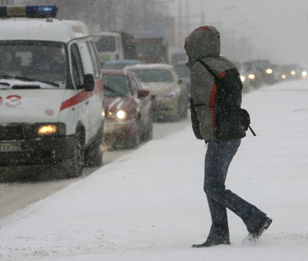 Таких сильных морозов, как в декабре 2009 года, в Москве не было три года