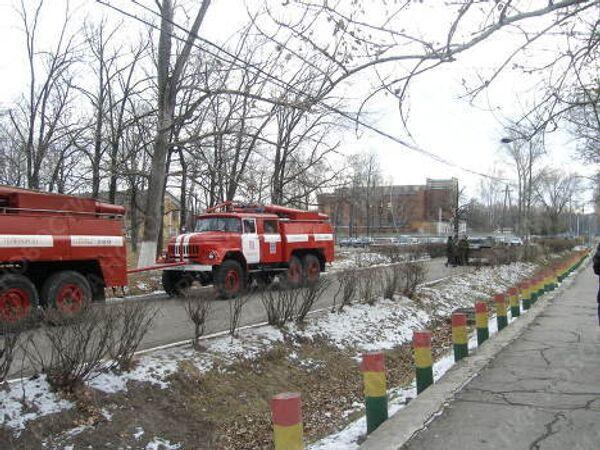 Обстановка у складов боеприпасов воинской части в Ульяновске