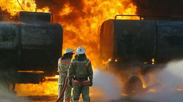 СКП возбудил дело по факту гибели рабочего на АЗС в Ульяновске