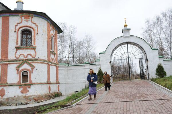 В Свято-Успенском Космине мужском монастыре в селе Небылое