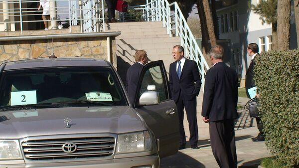 Сергей Лавров в посольстве России в Кабуле