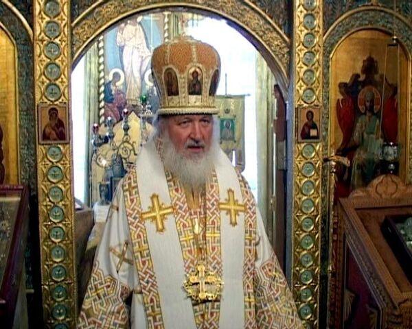 Патриарх Кирилл об убитом священнике Даниил Сысоев