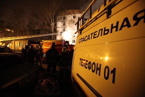 Взрыв бытового газа на юго-востоке Москвы. Архив