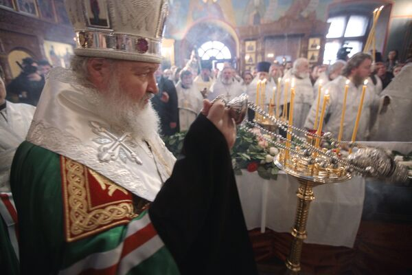Патриарх Московский и всея Руси Кирилл принял участие в прощании со священником Даниилом Сысоевым