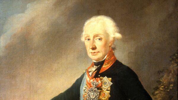 Портрет А.Суворова. Архивное фото