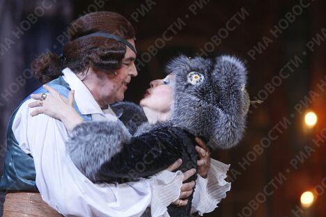 Генеральная репетиция оперы Давида Тухманова Царица прошла на сцене ГКД