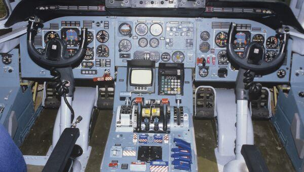 В кабине пилота. Архивное фото