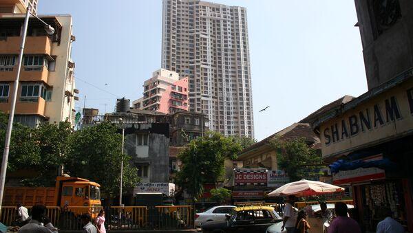 Атака террористов на Мумбаи 26 ноября 2008 года. Места трагедии год спустя. Архивное фото